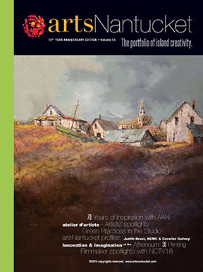 artsNantucket 2015 Cover
